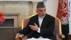 Afghan President Hamid Karzai says investigators should be able to work without political interference.