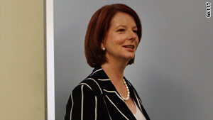 Incumbent Australian PM Julia Gillard will win the election according to Harry the salt-water crocodile.