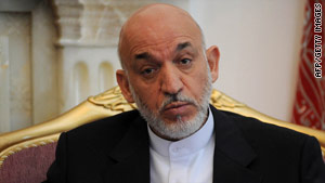 "Aghanistan President Hamid Karzai says he ""intervened very strongly"" in the release of a security official."