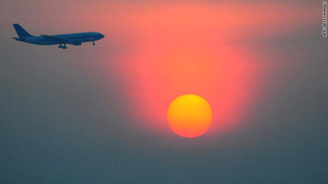 A Chinese airliner takes off from the Beijing International Capital airport. False flying records are common knowledge among Chinese pilots, China Daily reported.