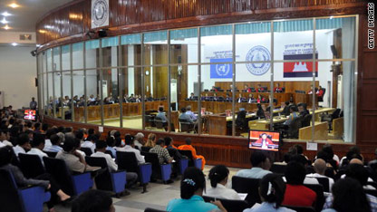 Top Khmer Rouge cadre charged by court