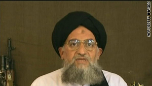 An image grab taken from a video broadcast on Al Jazeera television on 20 December 2006 shows Ayman al-Zawahiri.