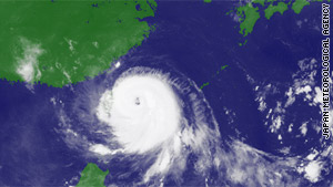 Typhoon Fanapi is scheduled to make landfall in eastern Taiwan early Sunday, Xinhua reports.