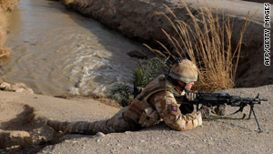 British forces suffered heavy losses in the Sangin district of Helmand Province since 2006.