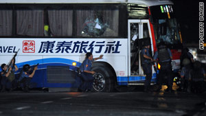The botched rescue operation on August 23 resulted in the deaths of eight tourists from Hong Kong.
