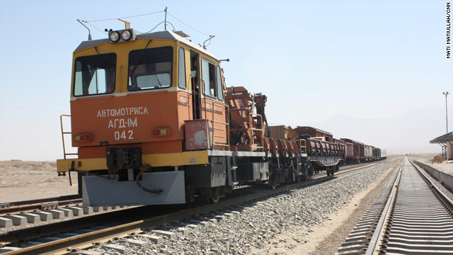 After nearly a century, a modern Afghan railroad is under construction