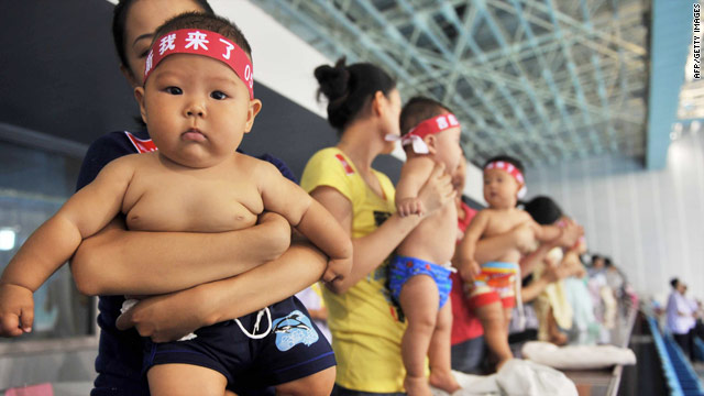 China's government says its one-child policy has averted 400 million births since 1979.