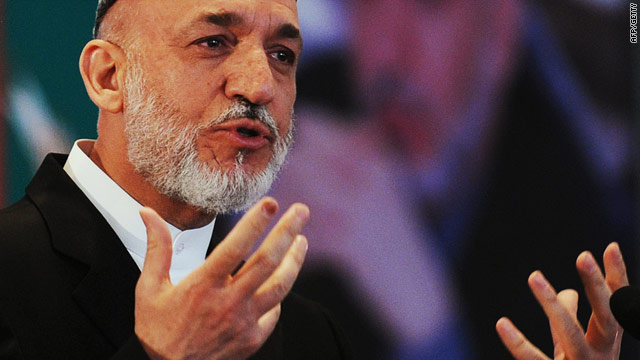Karzai breaks down in tears at event