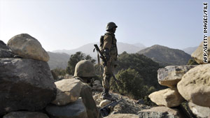 The region of Pakistan that borders Afghanistan has been the target of U.S. drone attacks against militants.