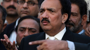 "Rehman Malik: ""I assure you we are quite capable of defending our homeland."""