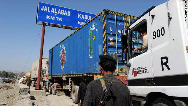 The main land route for NATO supplies into Afghanistan from Pakistan has been blocked.