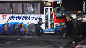 The death of the tourists created a furor in Hong Kong, where people watched the botched operation unfold live on TV.