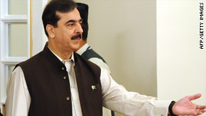 Several suspects were arrested over an alleged plot to attack Prime Minister Yousaf Raza Gilani's compound.