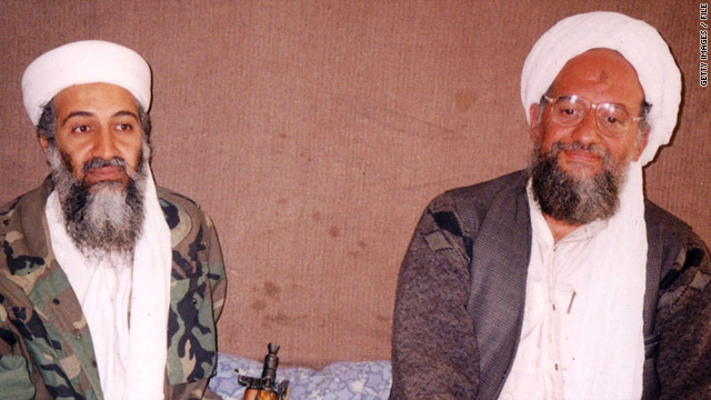 Osama bin Laden (left) and his deputy Ayman al-Zawahiri.