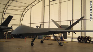 Drones similar to this have targeted Pakistan's tribal region in the past.