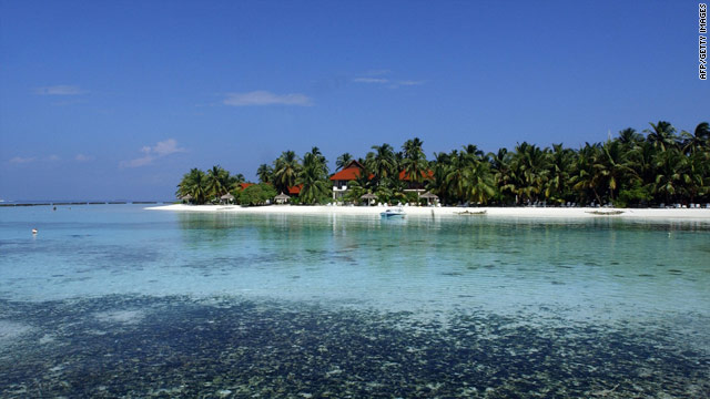 The Maldives are a favorite of well-heeled Westerners lured by its white sandy beaches.