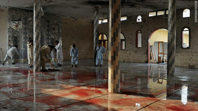 Second deadly mosque attack in Pakistan