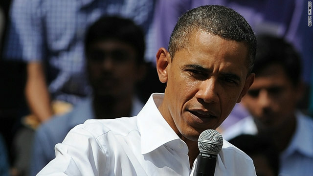 "Speaking at a town hall meeting in Mumbai, President Obama says Pakistan still has ""extremist elements"" in the country."