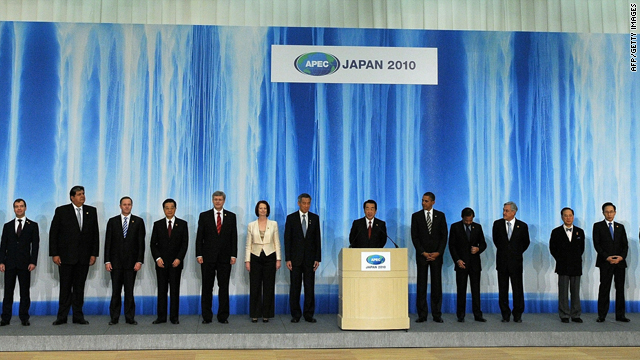 APEC leaders said in a joint statement they would take steps toward a trans-Pacific trade treaty.
