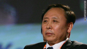 Kang Rixin, former head of the China National Nuclear Corporation.