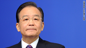 Premier Wen Jiabao is the most senior Chinese official yet to address the crisis.