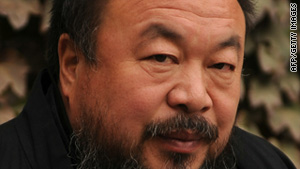 Chinese artist Ai Weiwei was waiting for his plane at Beijing airport when police officers stopped him.