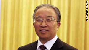 China's top foreign policy official Dai Bingguo.