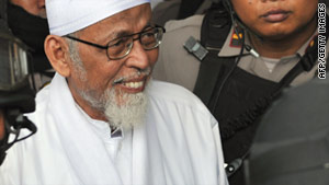 Abu Bakar Bashir may face the death penalty.