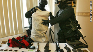 Anti-terrorism commandos arrested five suspects in a raid that netted Abu Tholut, one of Indonesia's most wanted men.
