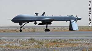 The United States is the only country known to have the ability to launch missiles in the region from remote-controlled aircraft.