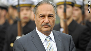 Defense Minister Chaudhary Ahmed Mukhtar said Pakistan would tackle extremism at its own pace.
