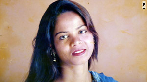 Asia Bibi, a Christian, was sentenced to death for blasphemy of Islam -- judicial proceedings could take years.