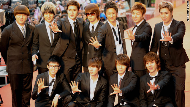 Super Junior is one of the most famous boy bands in Asia -- arguably even the world.