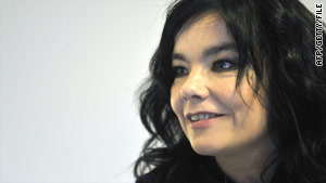 "Atheist Ireland has published ""blasphemous"" quotations from Bjork, pictured, Mark Twain and Salman Rushdie."