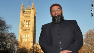 "Anjem Choudary signs himself ""UK Head of Al-Muhajiroun,"" a banned British group."