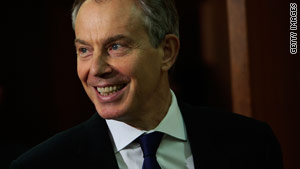 Blair said last month he supported regime change in Iraq even without evidence of weapons of mass destruction.