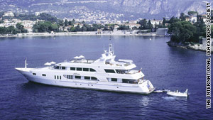 "Superyachts like ""Katherine"" carry special SeaKeeper 1000 machines to record a wealth of weather data."