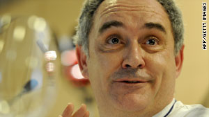 "One New York magazine dubbed Ferran Adria ""the godfather of foam."""