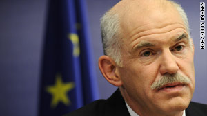 George Papandreou says financially-stricken Greece cannot go it alone.