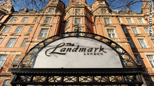 Police say a body was found in the Landmark hotel next to London's Marylebone station.