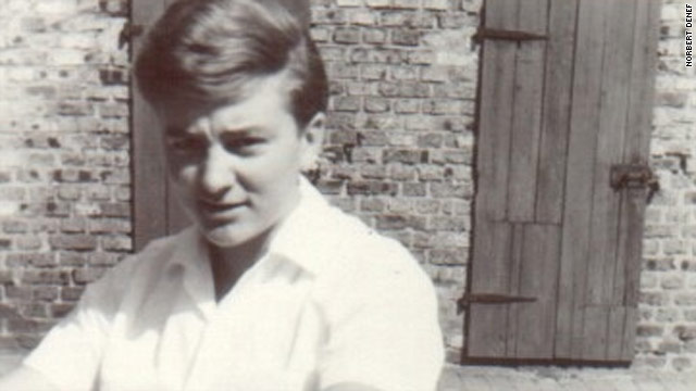 Norbert Denef at the age of 16. He says he was first abused at the age of 10 after becoming an alter boy at his local church.