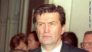 Ejup Ganic, pictured in 1993, was regarded by many as a relatively moderate Bosnian leader.