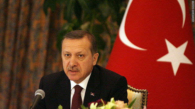Turkish Prime Minister Recep Tayyip Erdogan has expressed anger at accusations of genocide against the country.