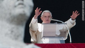 Pope Benedict XVI has expressed his dismay at allegations of abuse within the church.