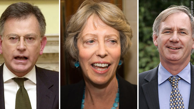 Stephen Byers, Patricia Hewitt and Geoff Hoon have all been suspended from the Labour Party.