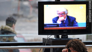 Karadzic failed to have the trial postponed until mid-June, saying he needed more time to prepare his case.