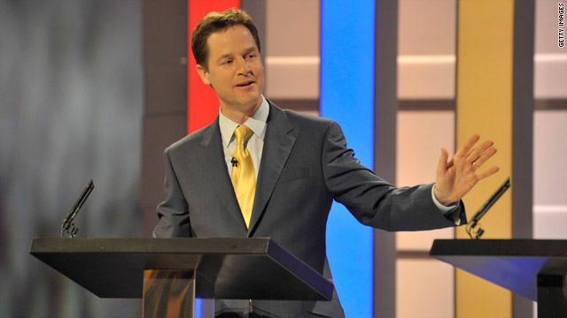 Liberal Democrats leader Nick Clegg emerged as the clear winner in the first leaders' debate.