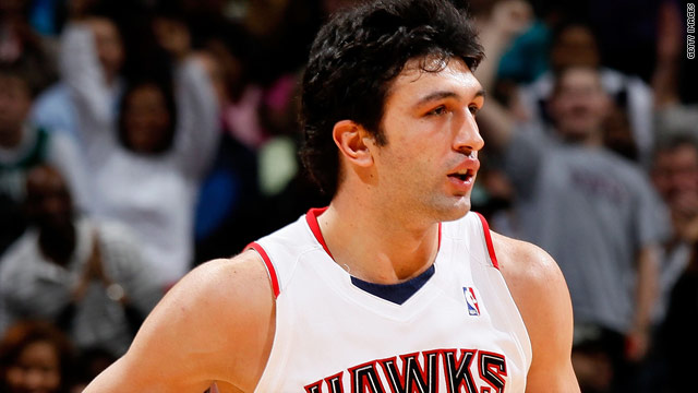 NBA player Zaza Pachulia is a sporting hero in his home country, Georgia.