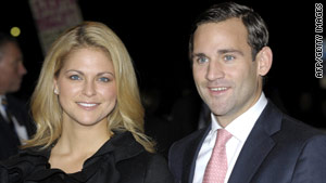 Princess Madeleine has split with her fiance, Jonas Bergstrom.