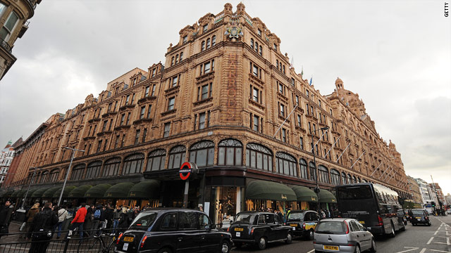 Harrods began as a small store in 1849 in London to capitalize on trade from the upcoming Great Exhibition in nearby Hyde Park.